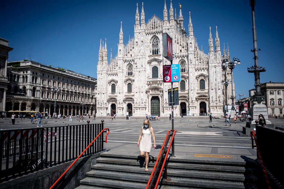 Geiselnahme im Dom von Mailand: Mann bedroht Wache mit Messer