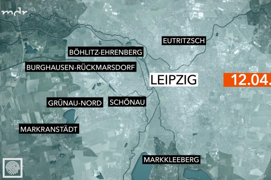 An diesen Orten kam es am 12. April zu Diebstählen in Supermärkten.