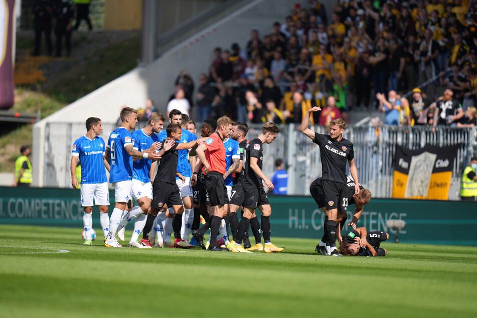 """Gegen Darmstadt hat """"K-Block-Dynamo"""" ein Programm außerhalb des Stadions organisiert. Beim nächsten Auswärtsspiel wird auch das entfallen."""