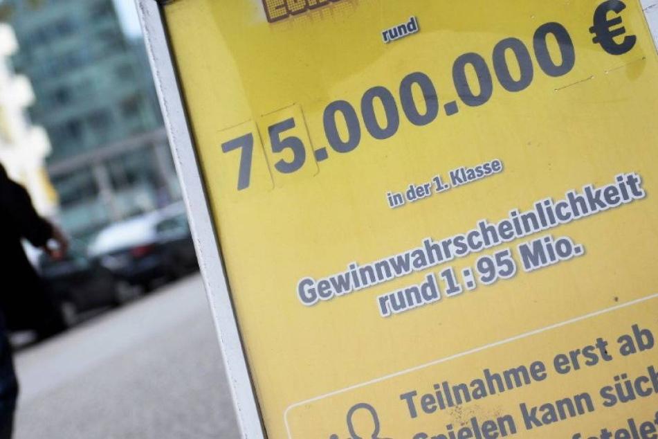Deutscher Lotterierekord! 76,8 Millionen Euro! Eurojackpot geknackt...