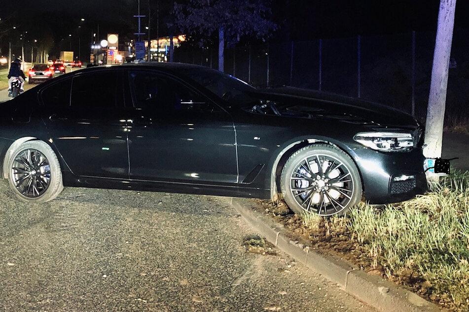 Illegales Autorennen in Trier endet mit Unfall: Polizei sucht Zeugen
