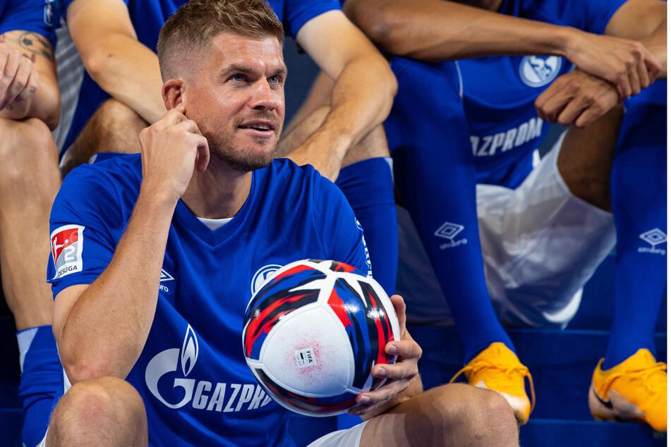 Simon Terodde (32) weiß, wo das Tor steht. Er soll Schalkes Torgarant werden.