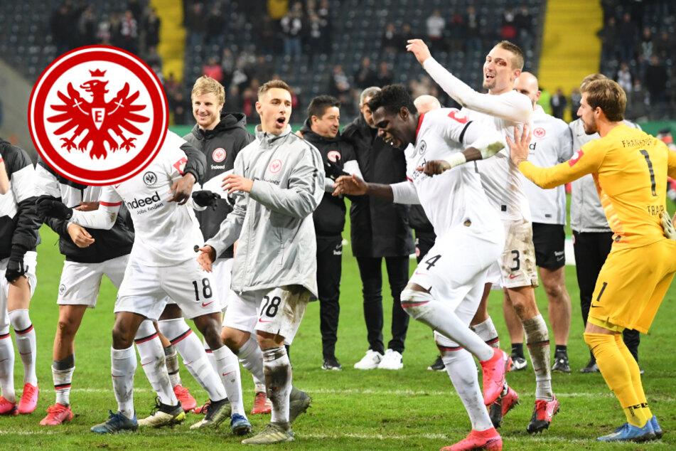 """Eintracht träumt vom Pokal-Finale:""""Wer nach Berlin will, muss jeden schlagen"""""""