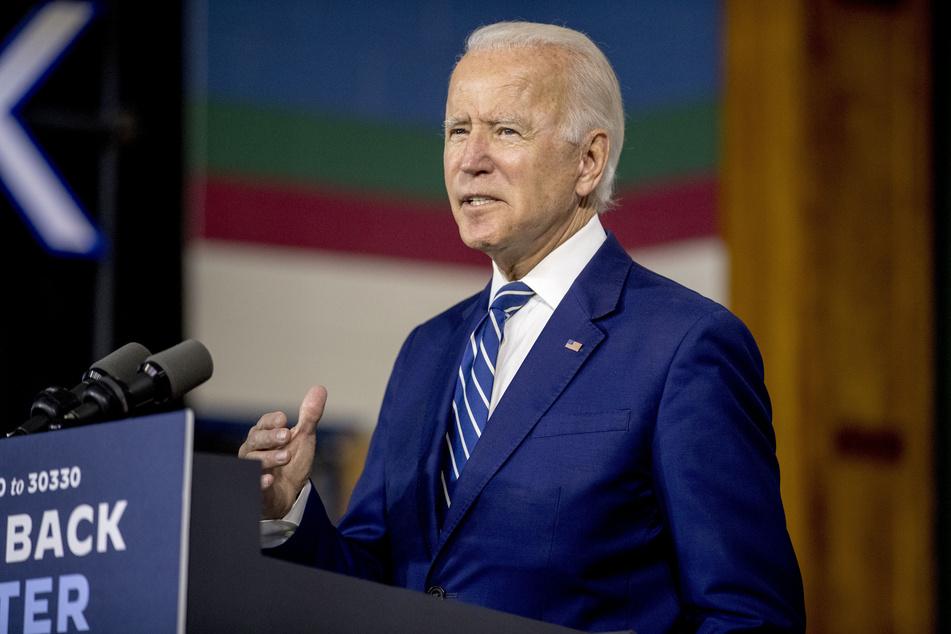 Der wahrscheinliche Präsidentschaftskandidat der US-Demokraten, Joe Biden.