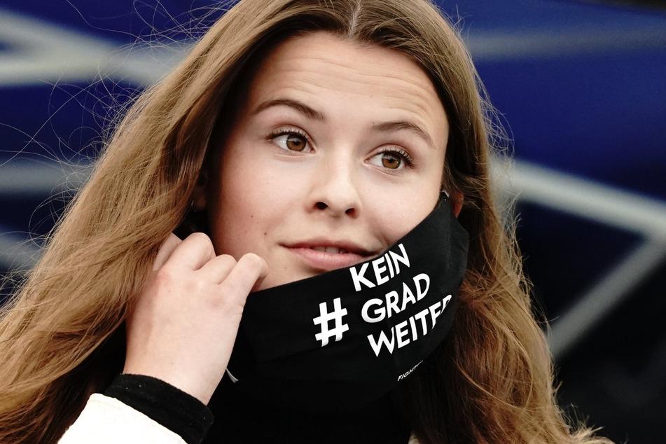 Aktivistin Luisa Neubauer (25) wird ebenfalls an dem Warnstreik von Fridays for Future in Düsseldorf teilnehmen.