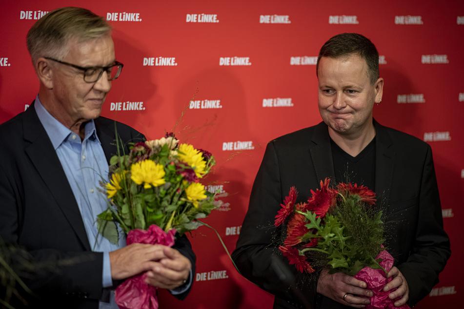 Dreiergespräch bei Rot-Rot-Grün: Linke kämpft für Weiterführung der bisherigen Regierung