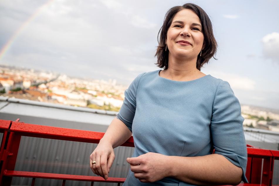 """Die """"Grüne"""" Kanzlerkandidatin Annalena Baerbock (40)."""