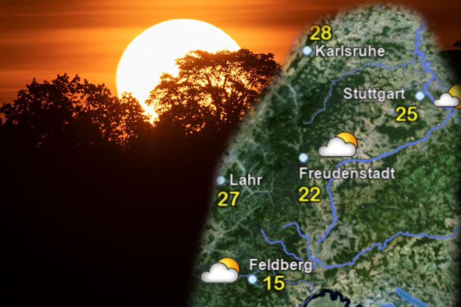 Das Wetter versüßt uns in Baden-Württemberg den Wochenstart