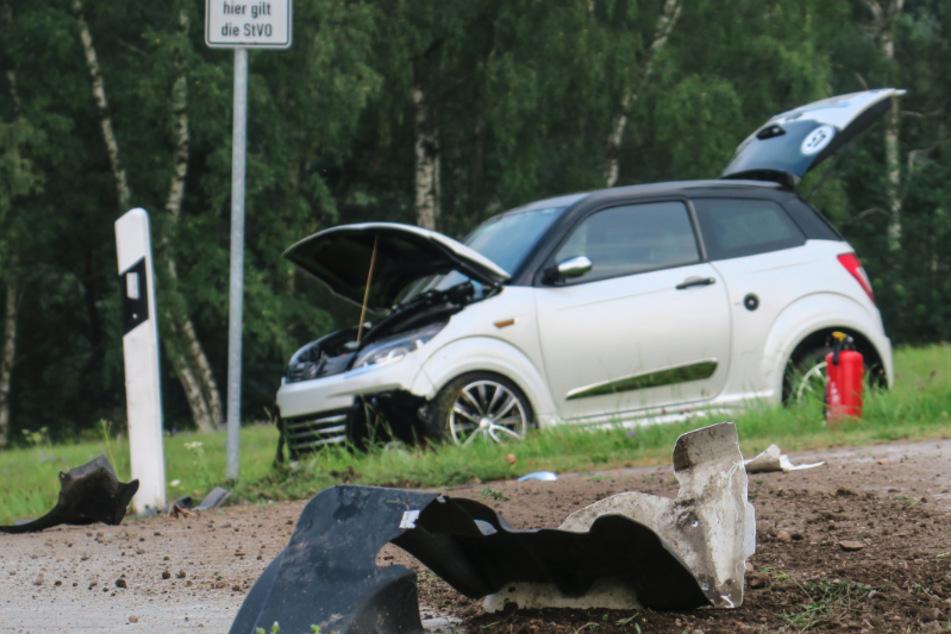 Unfall im Erzgebirge: Jugendliche (15) überschlägt sich
