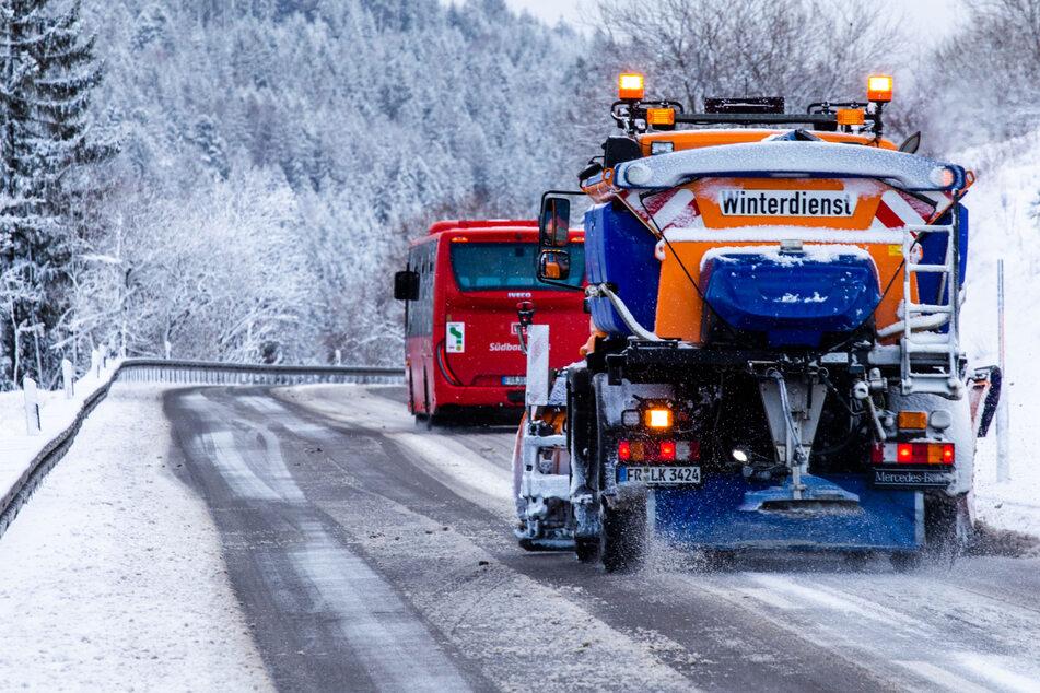 Autofahrer aufgepasst: Heute kommen Schnee und Glätte!