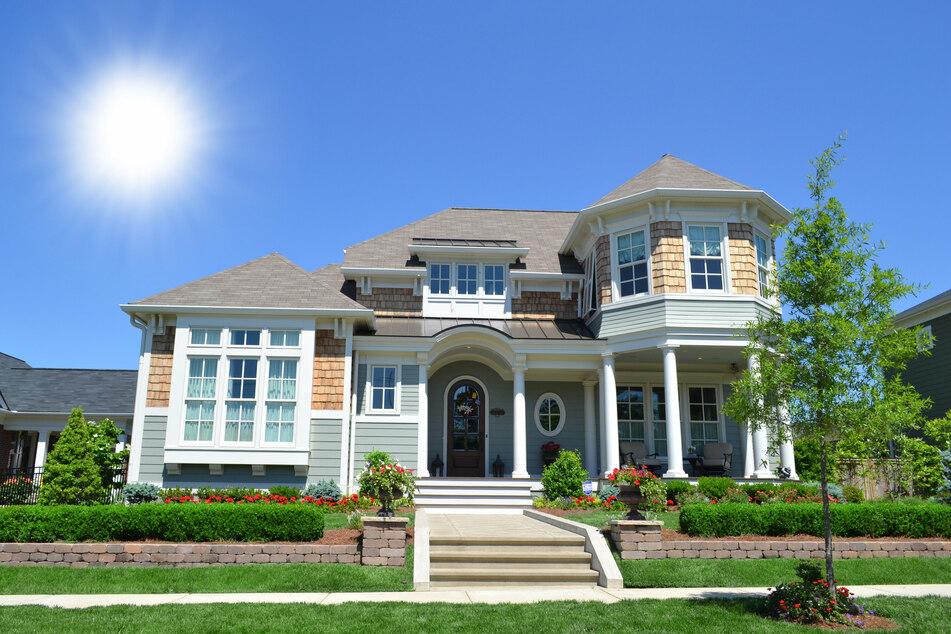 Ein ganz normales Haus in den Hamptons. Sieht idyllisch aus, ist es auch - und selbst für die Reichen noch zu teuer.