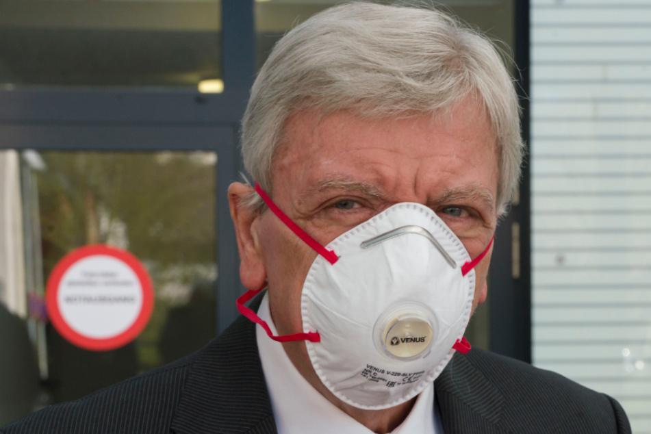 Volker Bouffier (68, CDU), Hessens Ministerpräsident.