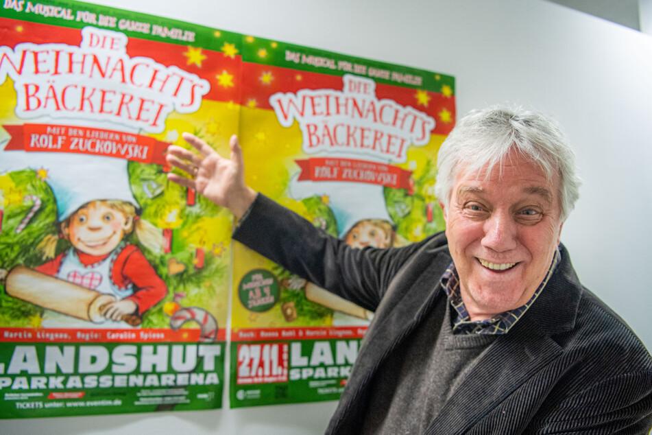 Traditionelles Weihnachtskonzert von Rolf Zuckowski wird im TV zu sehen sein
