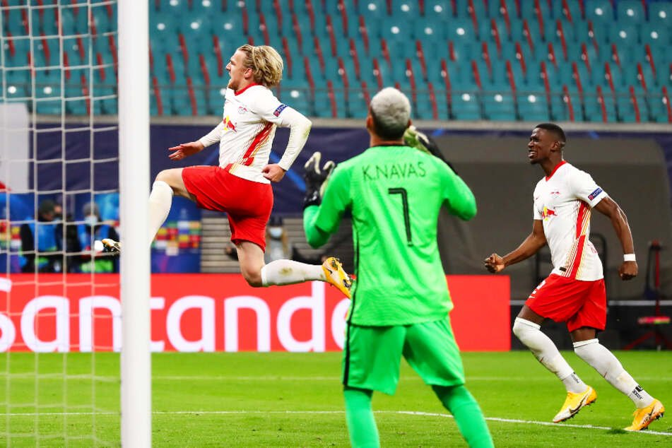RB Leipzig hat zwei Pleiten in Folge abgeschüttelt, Paris Saint-Germain mit 2:1 geschlagen und ist auf Platz zwei der Gruppe H gesprungen.