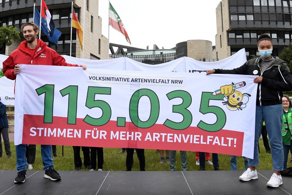 Mehr als 115.000 Unterschriften: Volksinitiative für Artenvielfalt beschäftigt bald den NRW-Landtag