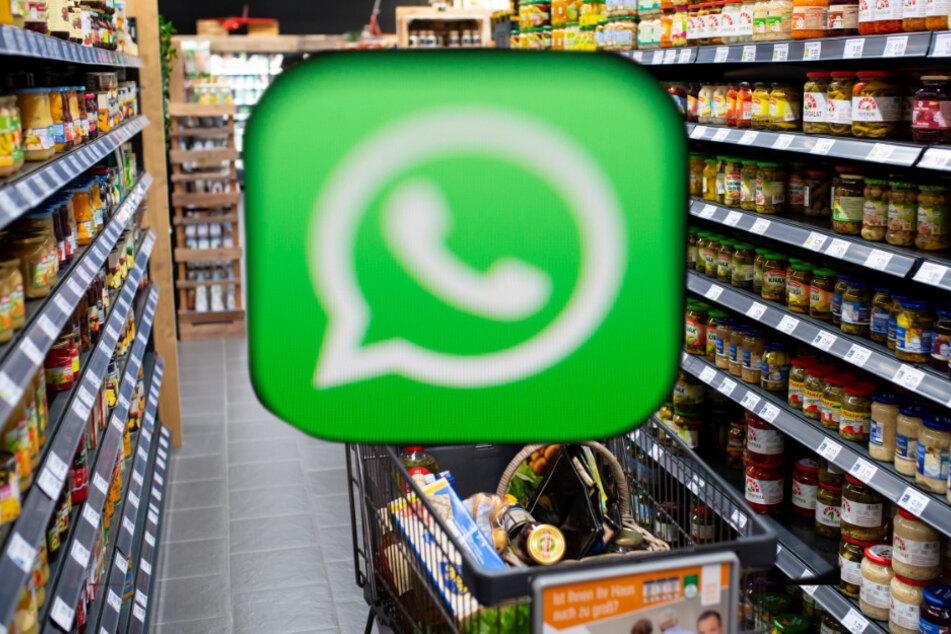 Coronavirus: Hier können Kunden ihren Einkauf per WhatsApp erledigen