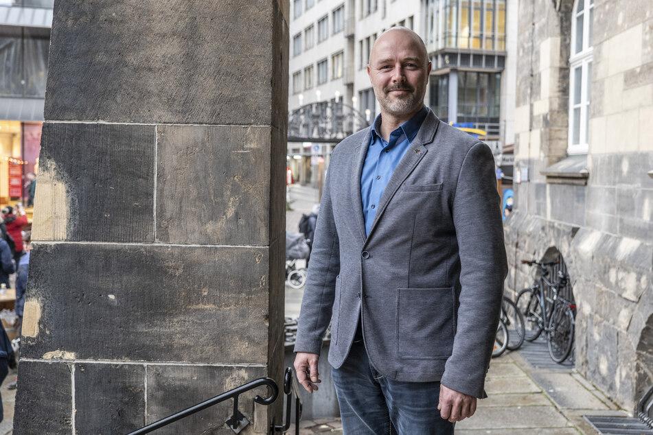 Will neue Chance auf Chemnitzer OB-Kandidat haben: Nico Köhler (44, AfD)