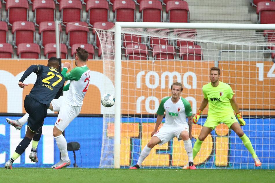Anthony Modeste (l.) erzielte die späte Führung des 1. FC Köln.