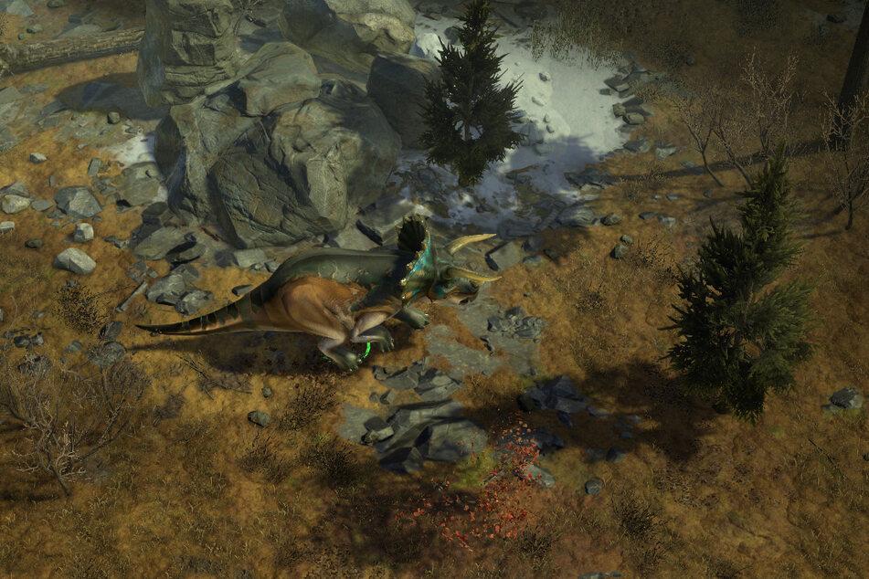 Besonders cool: Im neuen Teil könnt Ihr unter anderem mit einem Dino in den Kampf ziehen.