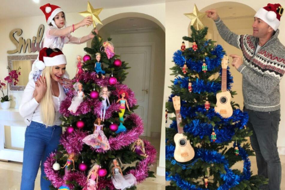 Gibt es etwa einen Streit um den Weihnachtsbaum bei Daniela Katzenberger?