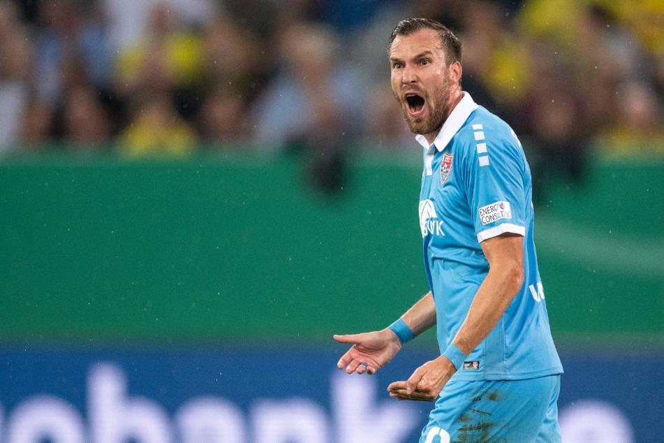 Seit Sommer 2018 beim Drittligisten: Kevin Großkreutz (31).
