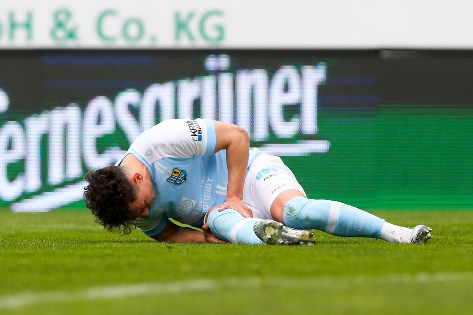 Nils Köhler (28) am Boden - aber nach einer langen Leidenszeit ist er jetzt wieder zurück.