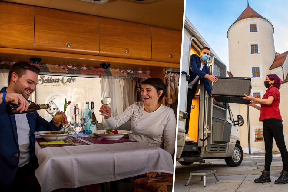 Chemnitz: Wohnmobil-Dinner im Freiberger Schloss: Wer schlemmen will, muss mit Tisch anreisen!