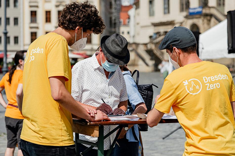 Soll Dresden bereits 2035 klimaneutral sein? Für ein entsprechendes Bürgerbegehren kann jetzt unterschrieben werden.