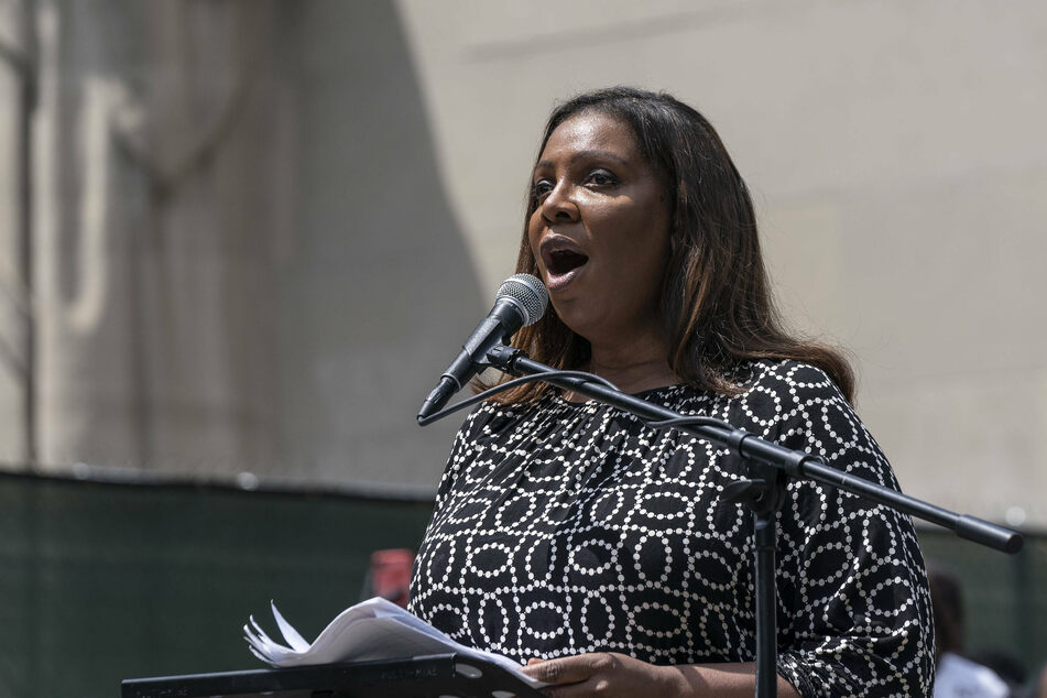 New York Attorney General Letitia James says the police's methods have devolved into abuse.
