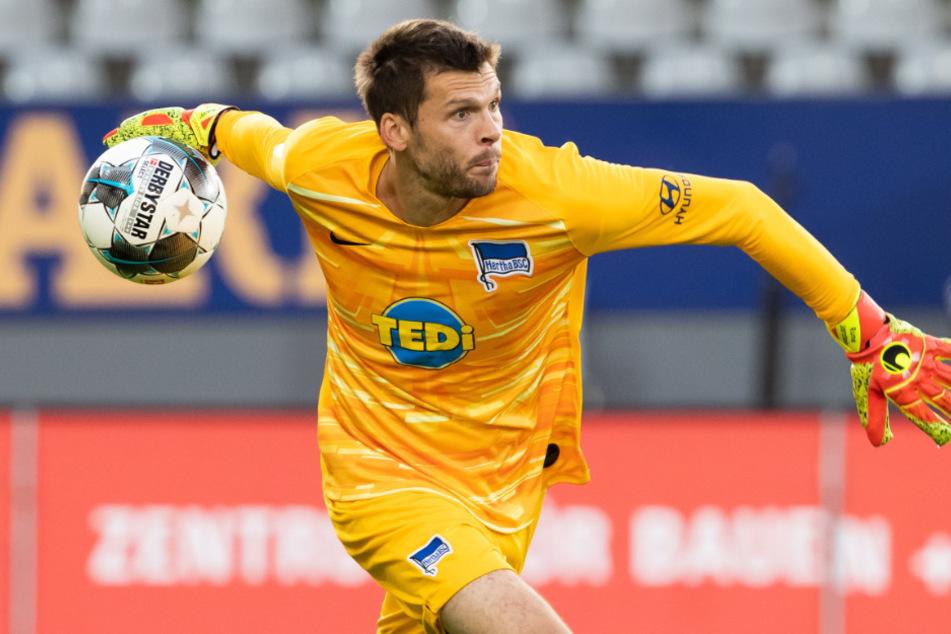 Rune Jarstein (36) könnte Hertha im Winter verlassen.