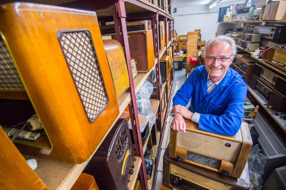 Ausstellung geplant: Schwarzenberger sammelt Radios aus alten Zeiten