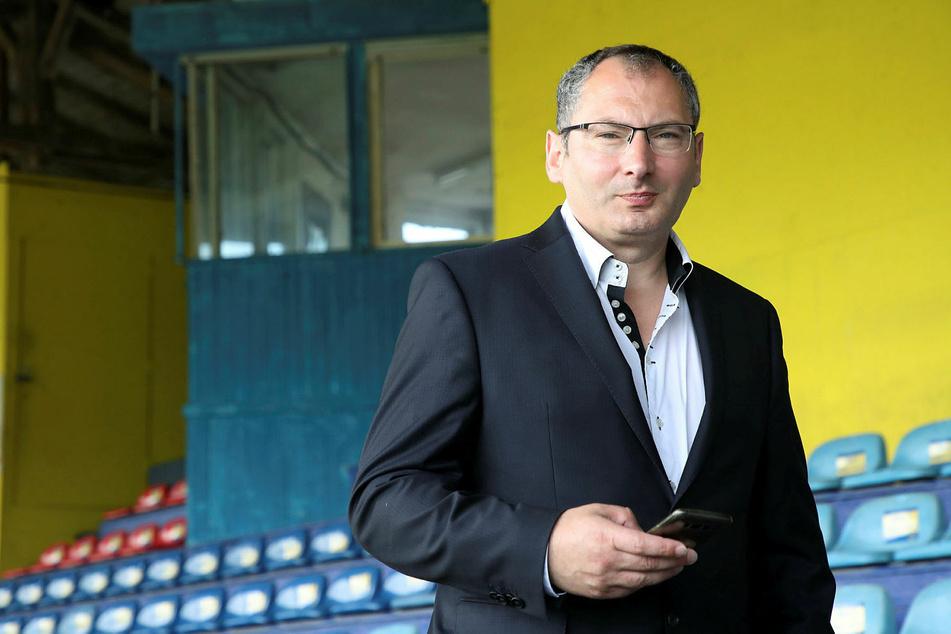 Lok Leipzigs Präsident Thomas Löwe (52) ist überwältigt von der Spendenbereitschaft der Fans.