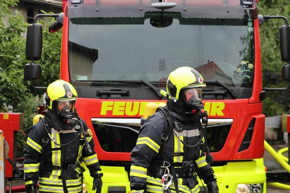 Zahlreiche Kameraden der umliegenden Feuerwehren waren im Einsatz.