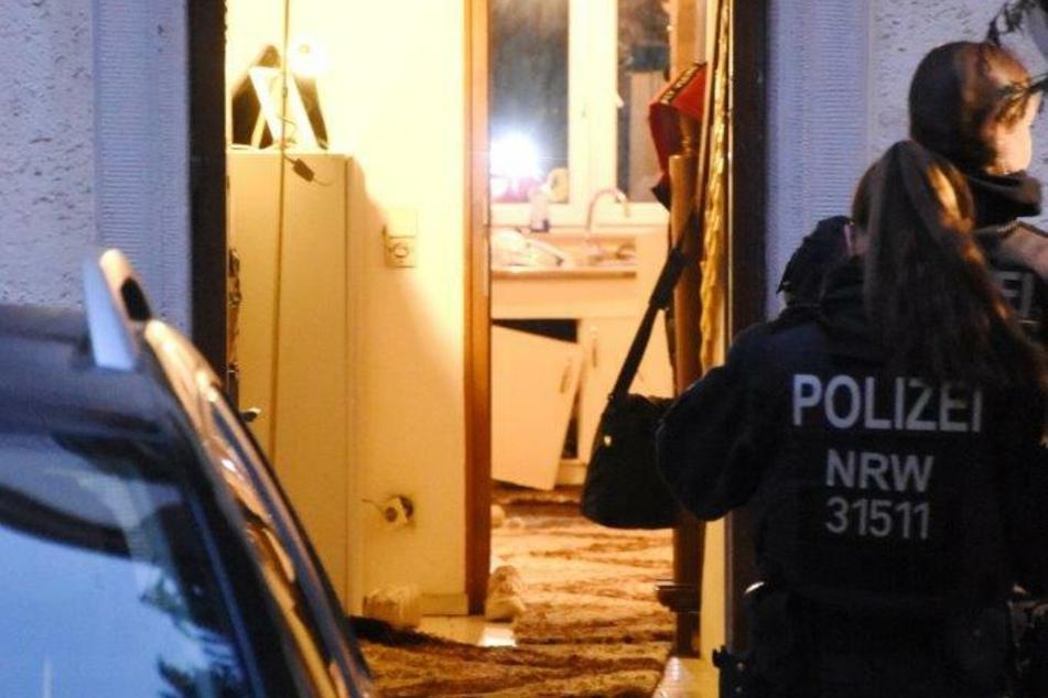 Der Zugriff der Polizei erfolgte am frühen Dienstagmorgen.