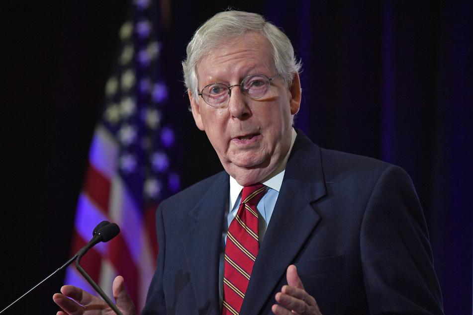 Mitch McConnell, republikanischer Senator aus Kentucky und Mehrheitsführer im Senat, erkennt Bidens Wahlsieg nicht an.