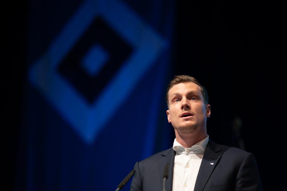 HSV-Aufsichtsratschef Marcell Jansen (35) hat dem Vorstand um Jonas Boldt sein Vertrauen ausgesprochen und zögert mit einer erneuten Kandidatur als Präsident (Archivfoto).