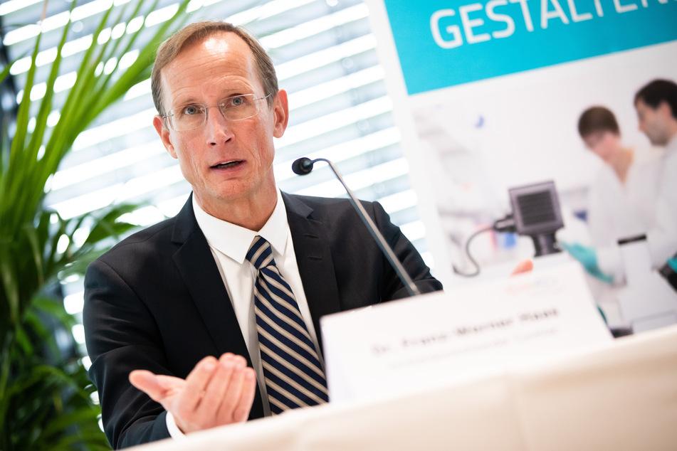 Franz-Werner Haas, Vorstandsvorsitzender des biopharmazeutischen Unternehmens Curevac.