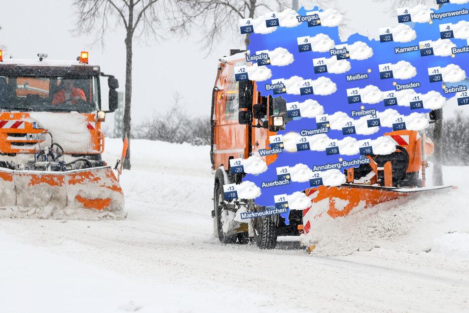 Mehr Frost, weniger Schnee: So wird in dieser Woche das Wetter in Sachsen