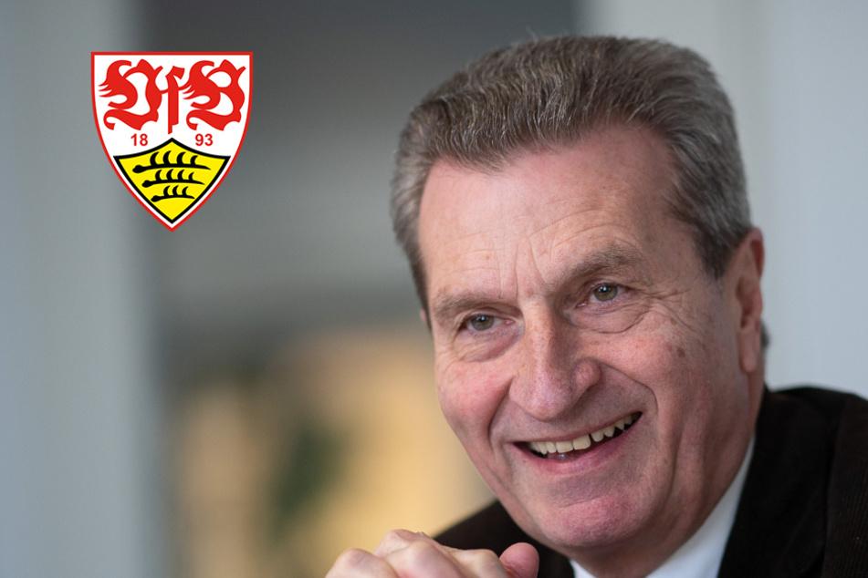 Gespräche mit Vogt: Oettinger Kandidat für VfB-Aufsichtsrat?