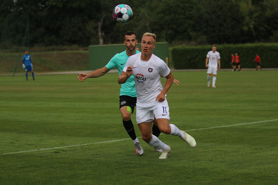 Erzgebirge Aue hat sein erstes Vorbereitungspiel im Trainingslager verloren.