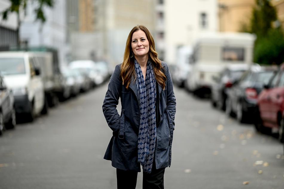 Janine Wissler (Die Linke), stellvertretende Parteivorsitzende der Linken auf Bundesebene.
