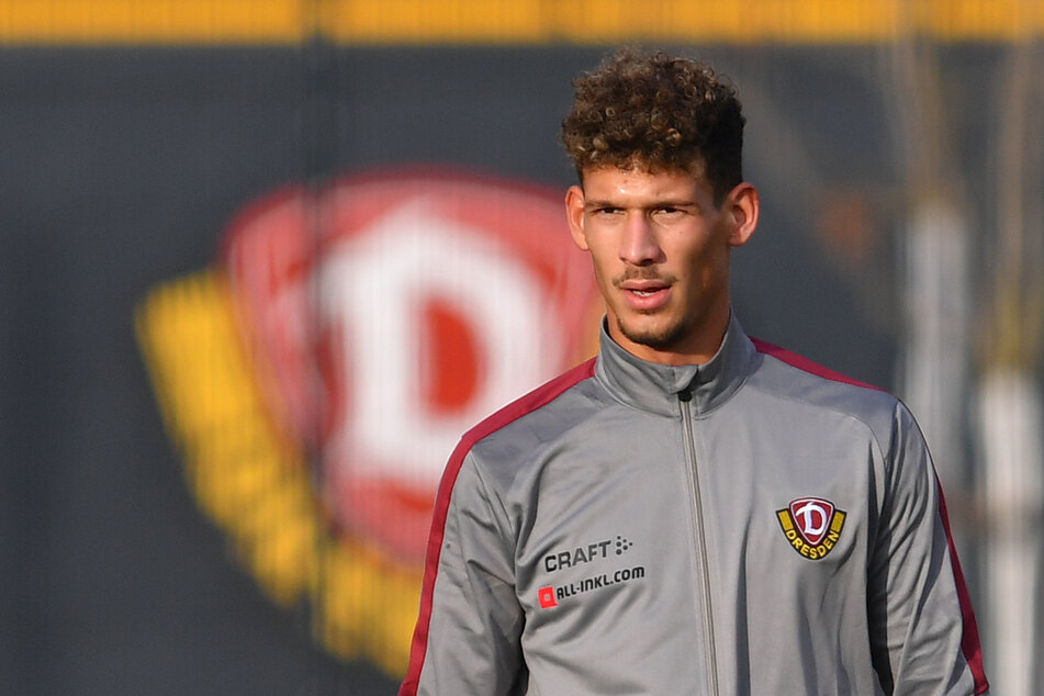 Dynamo-Stürmer Heinz Mörschel (23) ist erst vor Kurzem nach Dresden gewechselt, hat sich aber scheinbar schon sehr gut eingelebt - zumindest aus sportlicher Sicht.
