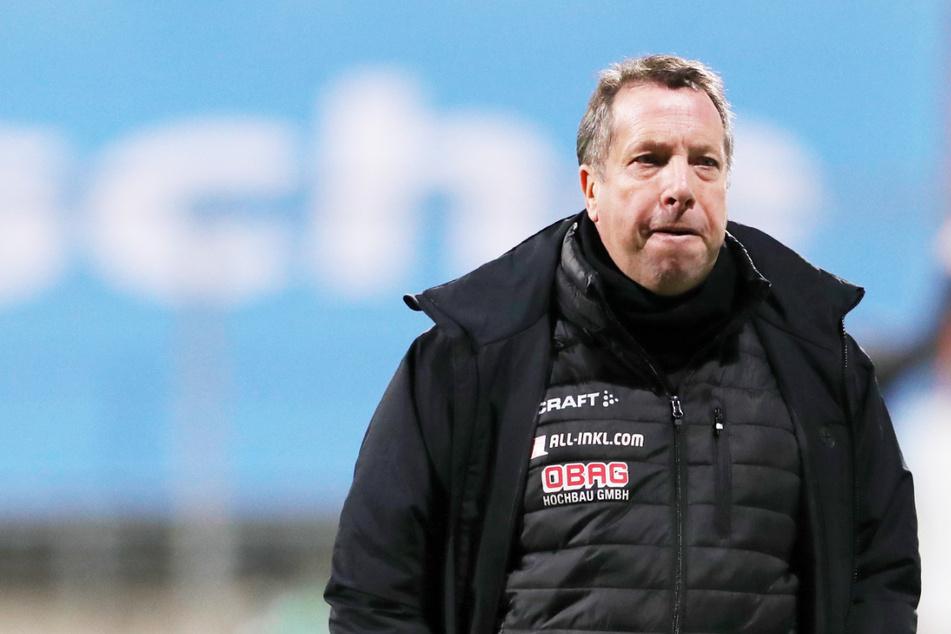 Coach Markus Kauczinski war nach der Pleite in München bedient.