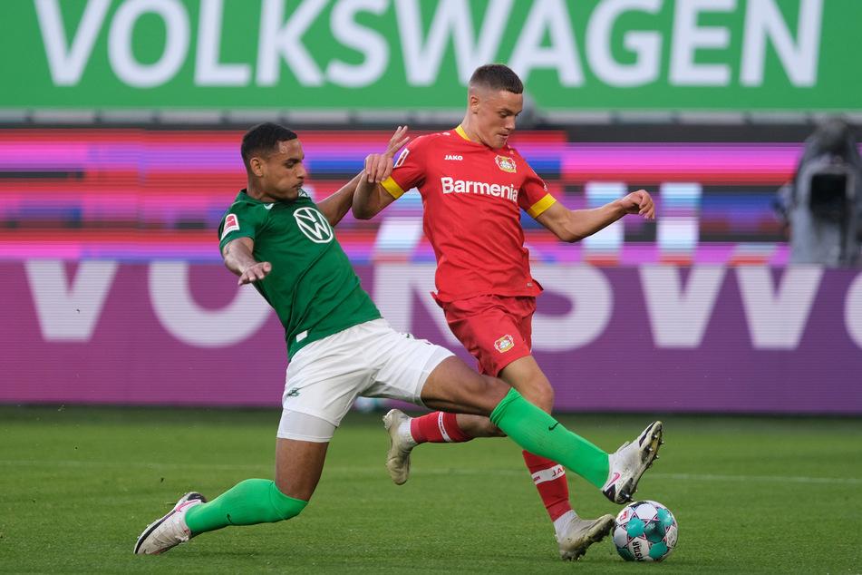 Das erste Bundesliga-Spiel von Bayer Leverkusen gegen den VfL Wolfsburg endete mit einem 0:0-Unentschieden.
