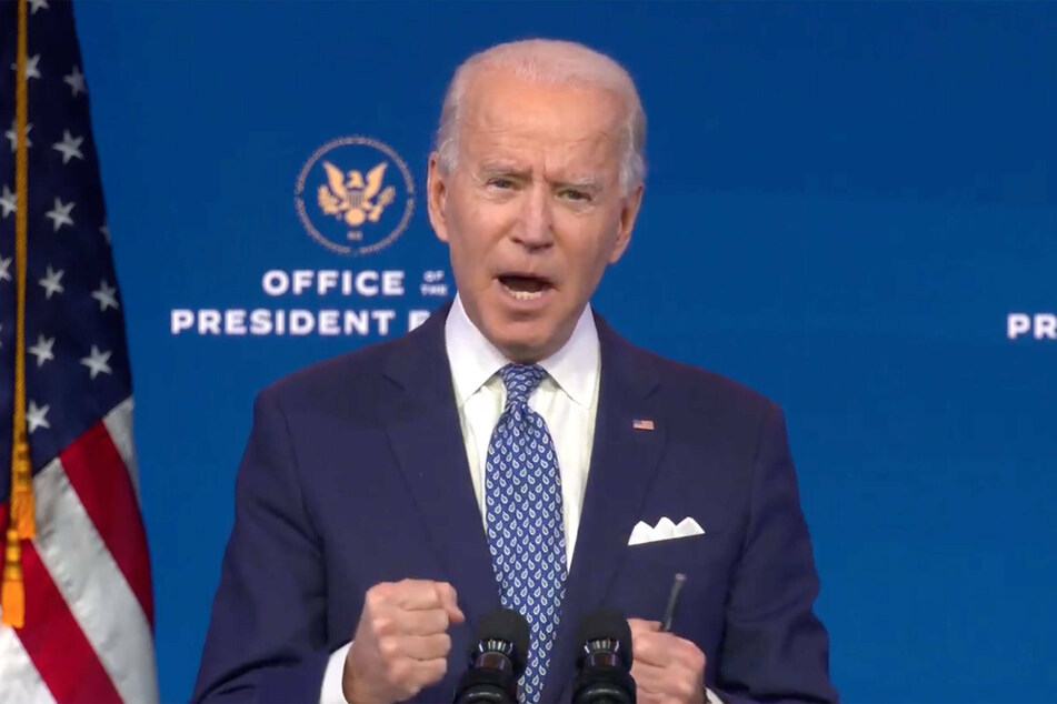 Biden urges Trump to sign Covid-19 relief package as shutdown looms