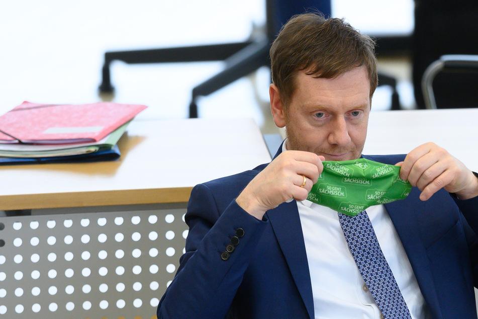 """Kretschmer nimmt Bund in Schutz: """"Auf Corona-Wahlkampf hat keiner Lust"""""""