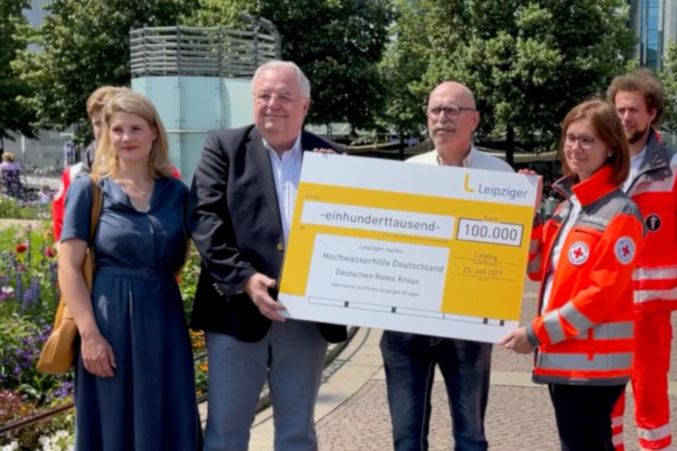 Leipzig: Für Hochwasser-Opfer: Leipziger Gruppe spendet 100.000 Euro, startet Crowdfunding-Aktion