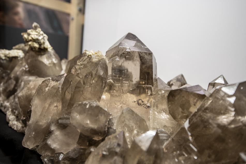 Mehr als 3500 Minerale gibt es in der Terra Mineralia zu bestaunen.