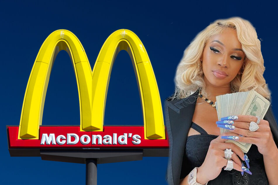 """Rapper Saweetie partners with """"bestie"""" McDonald's for her very own meal deal"""