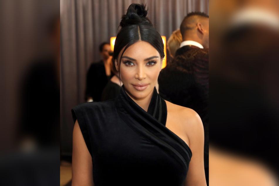 Kim Kardashian, US-amerikanische Schauspielerin.